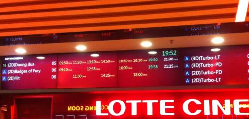 Lotte-info-board