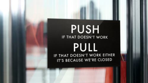 Push-Pull-Door
